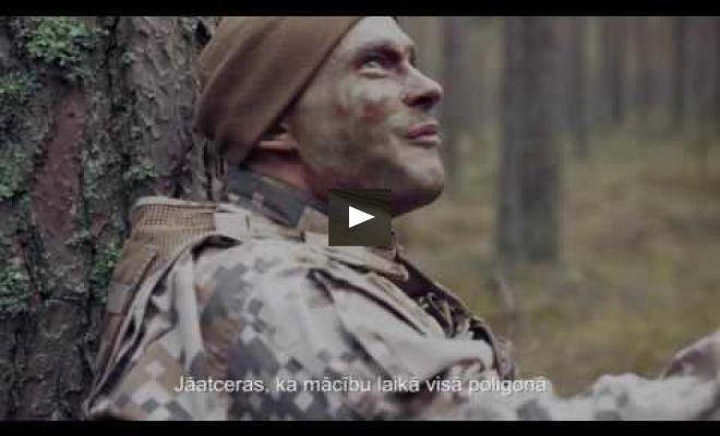 """Embedded thumbnail for Filma """"Videi draudzīgs karavīrs"""" iepazīstina ar vides aizsardzību Ādažu poligonā"""